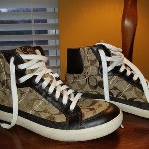 Coach High Top Sneaker
